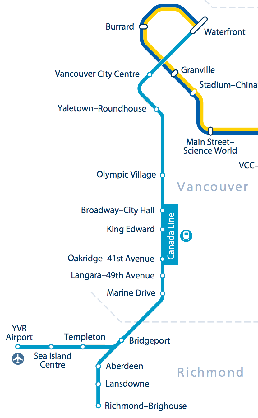 Map Of Canada Line Vancouver.Caos 2015